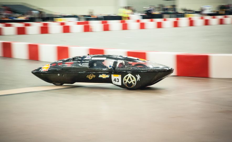 Shell Eco-Marathon: Cars Like You Wouldn't Believe—Or Fit In - Slide 26