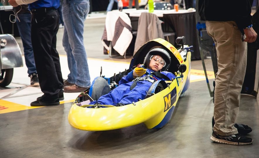 Shell Eco-Marathon: Cars Like You Wouldn't Believe—Or Fit In - Slide 50