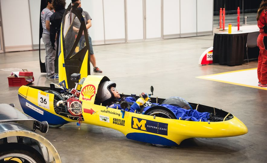 Shell Eco-Marathon: Cars Like You Wouldn't Believe—Or Fit In - Slide 52
