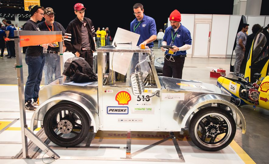 Shell Eco-Marathon: Cars Like You Wouldn't Believe—Or Fit In - Slide 53