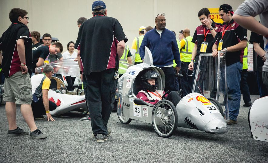Shell Eco-Marathon: Cars Like You Wouldn't Believe—Or Fit In - Slide 58