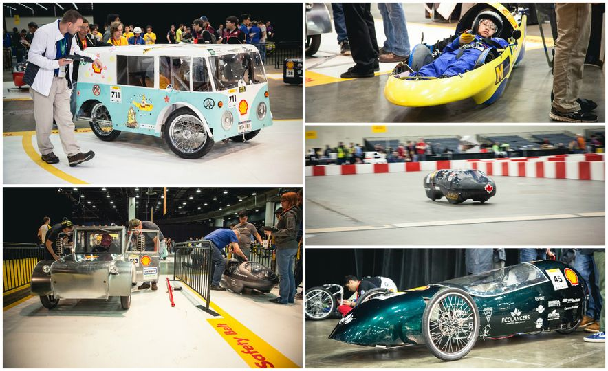 Shell Eco-Marathon: Cars Like You Wouldn't Believe—Or Fit In - Slide 1