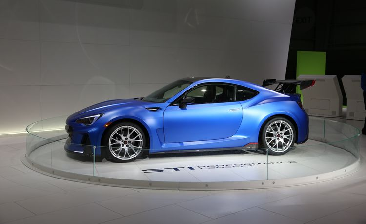 Subaru STI Performance Concept – Auto Shows