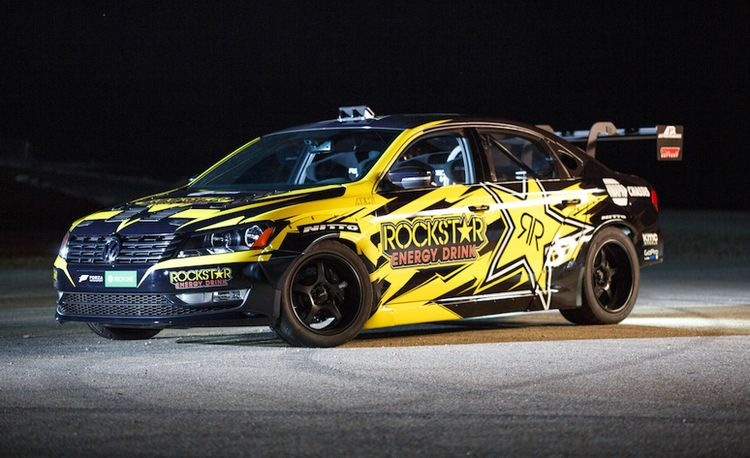 This 900-hp, V-8–Powered VW Passat Will Spend Its Life Sideways
