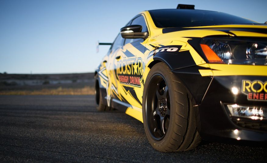 Tanner Foust's Rockstar Energy Volkswagen Passat Drift Car - Slide 2