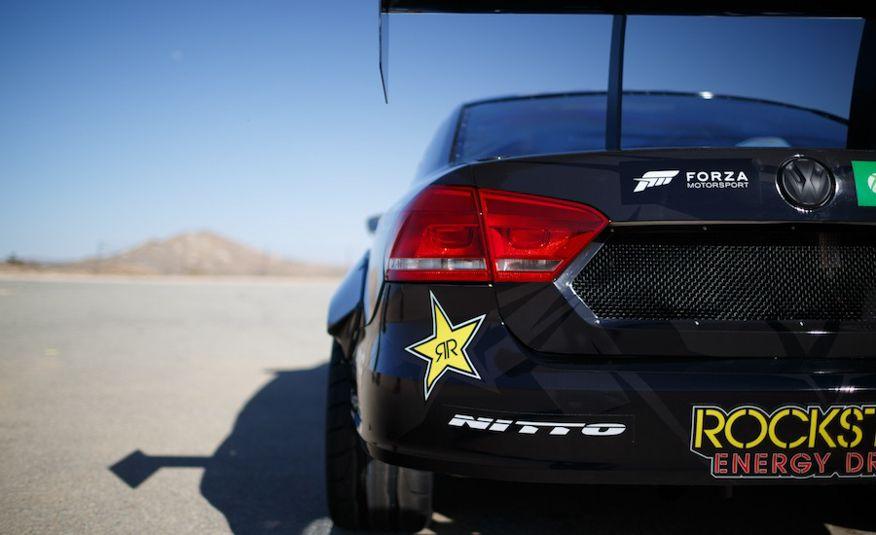Tanner Foust's Rockstar Energy Volkswagen Passat Drift Car - Slide 3