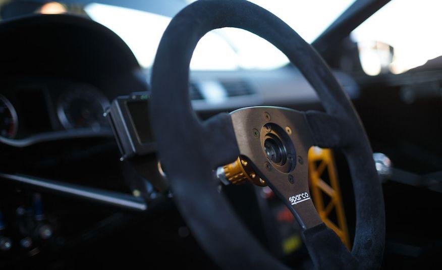 Tanner Foust's Rockstar Energy Volkswagen Passat Drift Car - Slide 8