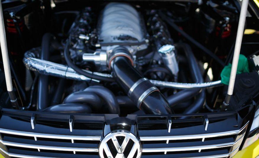 Tanner Foust's Rockstar Energy Volkswagen Passat Drift Car - Slide 13