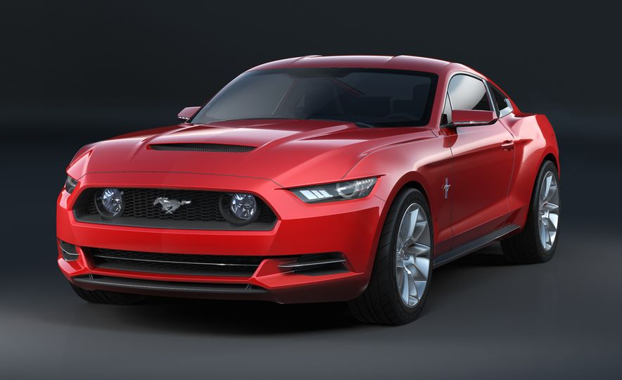 Stud Service: The Drawings and Designs that Gave Birth to the Latest Ford Mustang - Slide 10