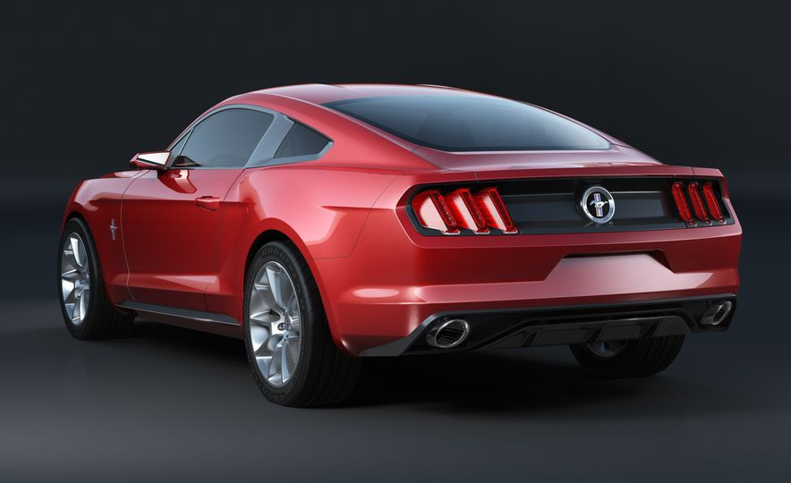 Stud Service: The Drawings and Designs that Gave Birth to the Latest Ford Mustang - Slide 11