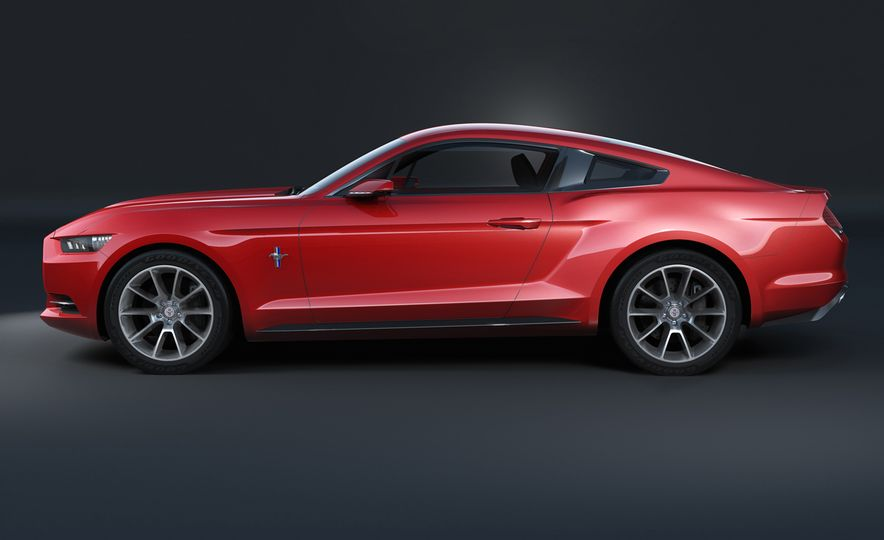 Stud Service: The Drawings and Designs that Gave Birth to the Latest Ford Mustang - Slide 12