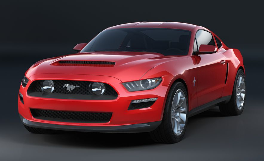 Stud Service: The Drawings and Designs that Gave Birth to the Latest Ford Mustang - Slide 13
