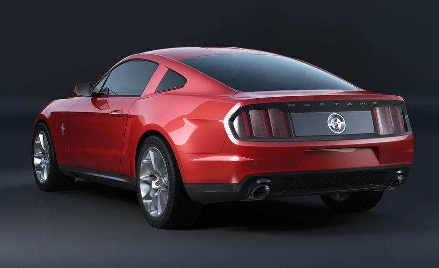 Stud Service: The Drawings and Designs that Gave Birth to the Latest Ford Mustang - Slide 14
