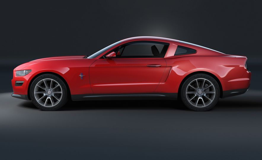 Stud Service: The Drawings and Designs that Gave Birth to the Latest Ford Mustang - Slide 15
