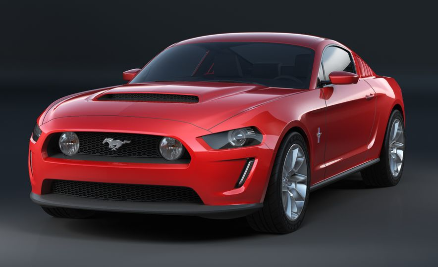 Stud Service: The Drawings and Designs that Gave Birth to the Latest Ford Mustang - Slide 16