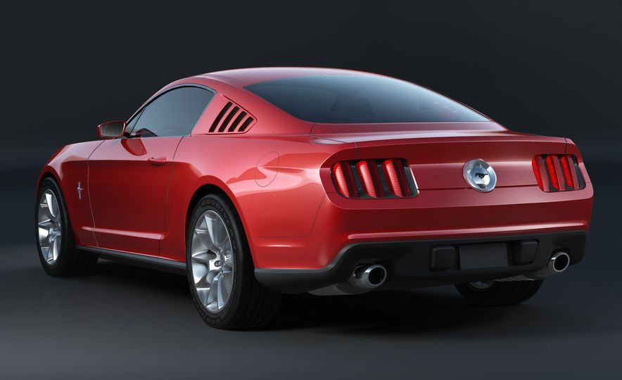 Stud Service: The Drawings and Designs that Gave Birth to the Latest Ford Mustang - Slide 17
