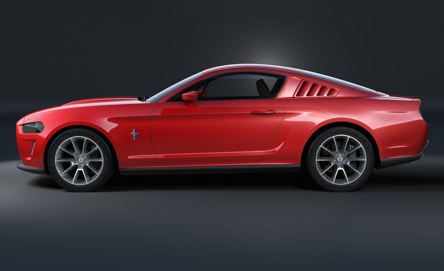 Stud Service: The Drawings and Designs that Gave Birth to the Latest Ford Mustang - Slide 18