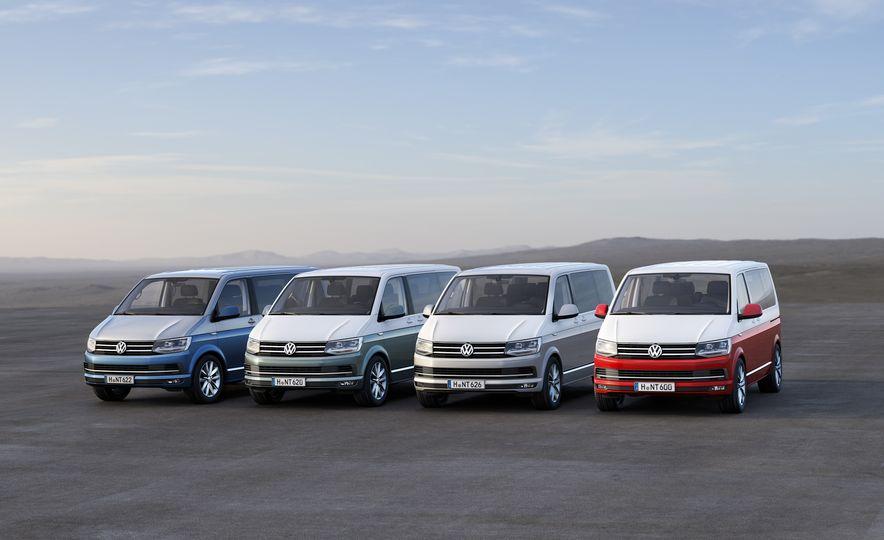 Volkswagen T-series vans (Euro-spec) - Slide 1