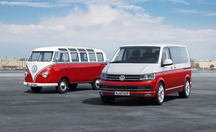 Volkswagen T-series vans (Euro-spec) - Slide 2