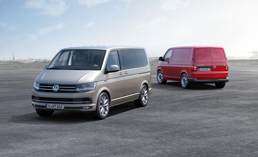 Volkswagen T-series vans (Euro-spec) - Slide 3