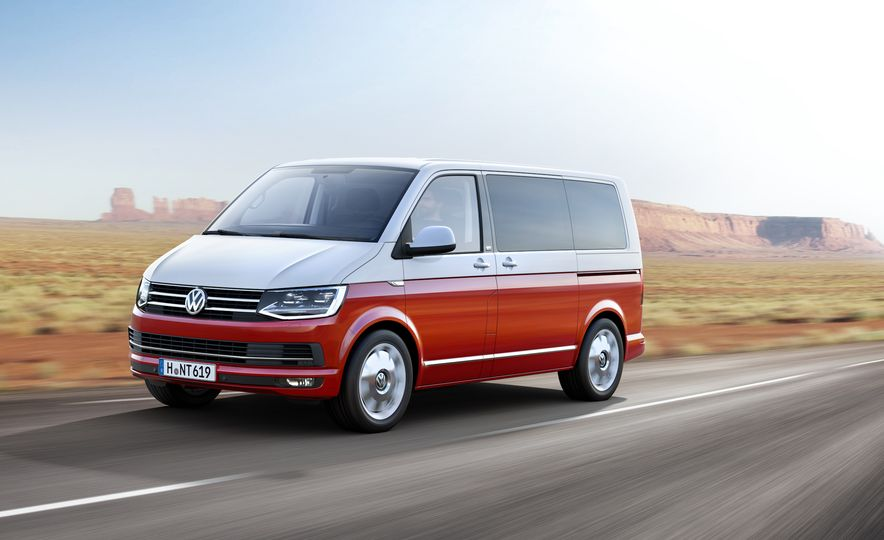 Volkswagen T-series vans (Euro-spec) - Slide 5