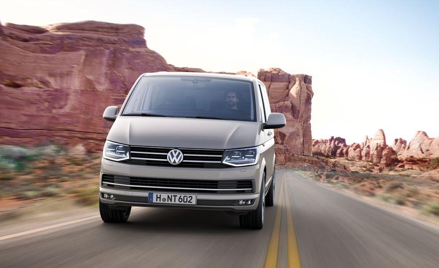 Volkswagen T-series vans (Euro-spec) - Slide 7