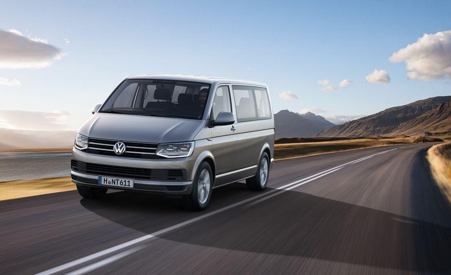 Volkswagen T-series vans (Euro-spec) - Slide 8
