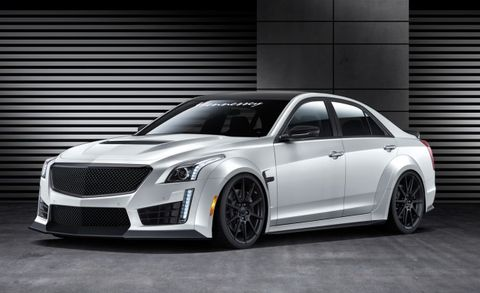 Hennessey Plans to Offer Cadillac CTS-V with 1000 hp