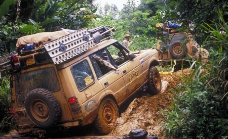 Hear the Lamentations of the Boulders: Land Rover Prepping Burly SVX Off-Road Models
