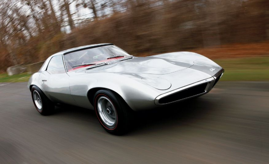 1964 Pontiac Banshee XP-833 concept car - Slide 1