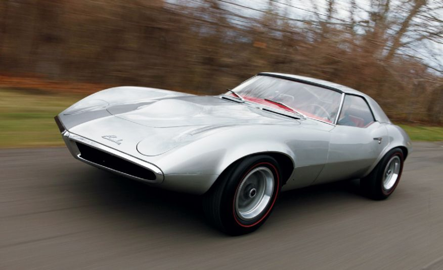 1964 Pontiac Banshee XP-833 concept car - Slide 2