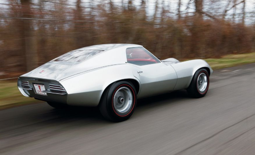 1964 Pontiac Banshee XP-833 concept car - Slide 4