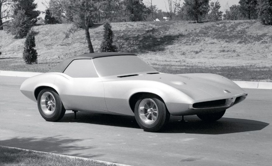 1964 Pontiac Banshee XP-833 concept car - Slide 13