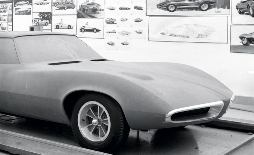 1964 Pontiac Banshee XP-833 concept car - Slide 15
