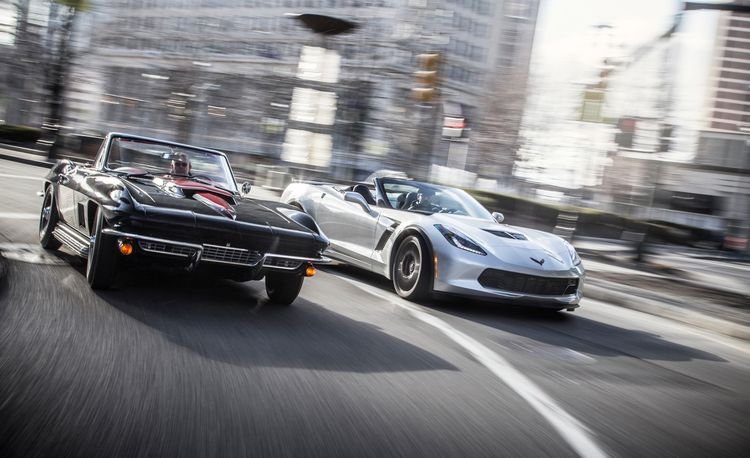 The Spirit of Detroit: 1967 Chevrolet Corvette Sting Ray 427 vs. 2015 Chevrolet Corvette Z06 Convertible – Feature