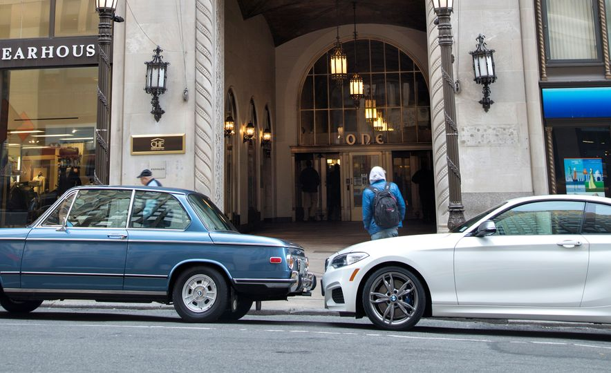 1972 BMW 2002 tii and 2015 M235i coupe - Slide 7