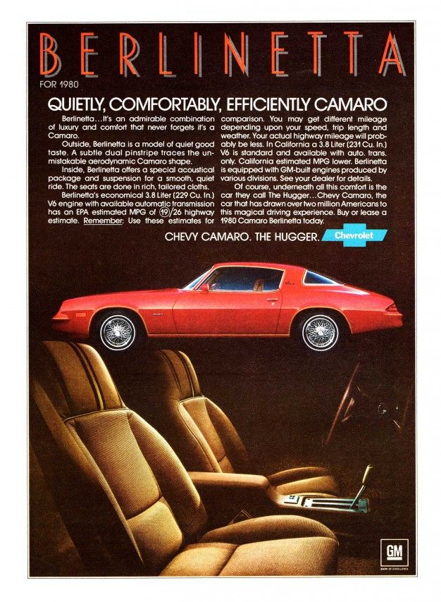 45 Awesome Vintage Chevrolet Camaro Ads – Feature – Car and Driver