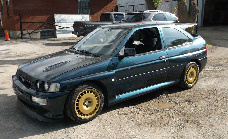 1992 Ford Escort Cosworth rally car - Slide 1
