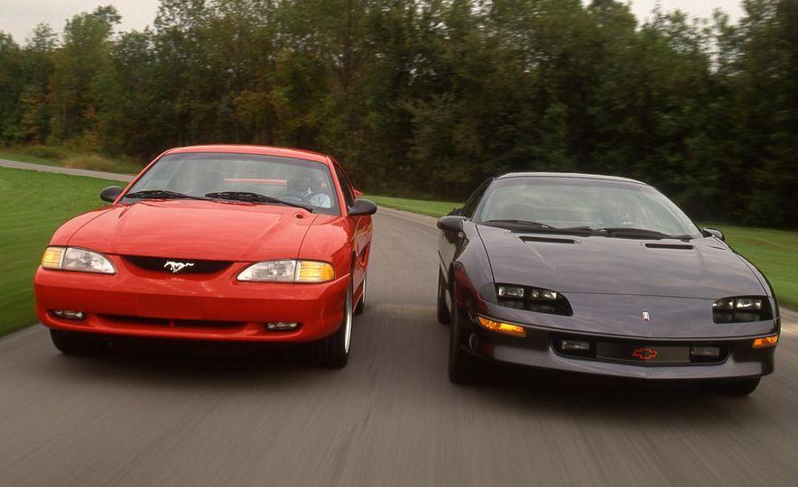 America vs. Tyranny, Wile E. Coyote vs. The Road Runner, Camaro vs. Mustang - Slide 21
