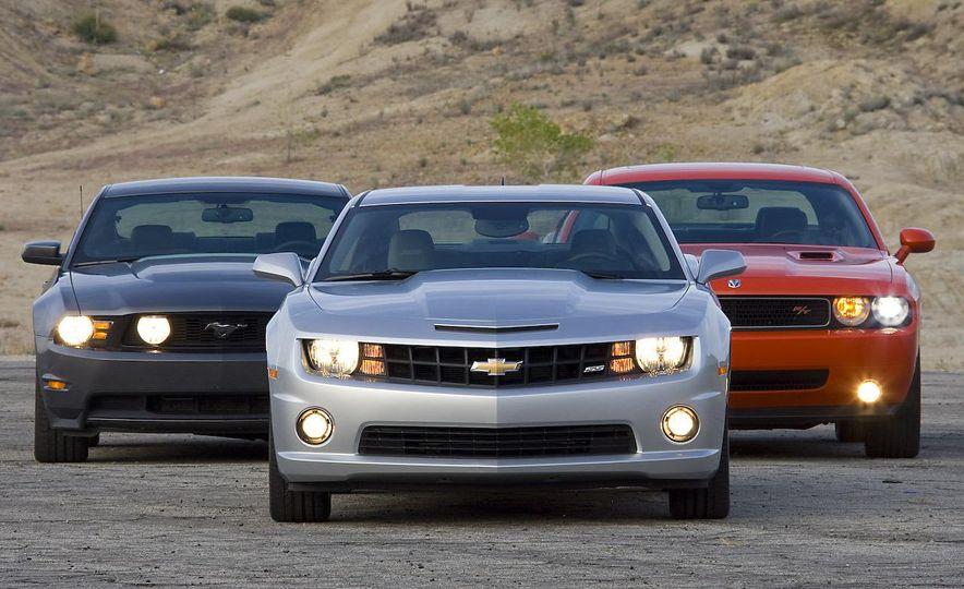 America vs. Tyranny, Wile E. Coyote vs. The Road Runner, Camaro vs. Mustang - Slide 35