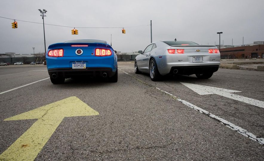 America vs. Tyranny, Wile E. Coyote vs. The Road Runner, Camaro vs. Mustang - Slide 37