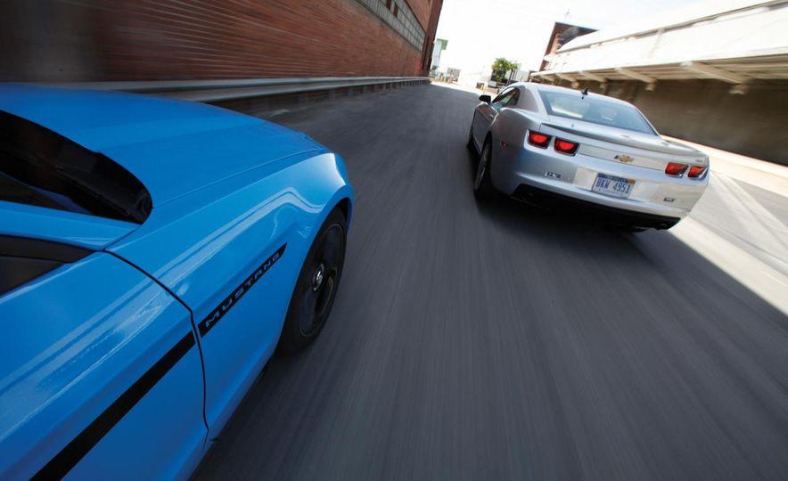 America vs. Tyranny, Wile E. Coyote vs. The Road Runner, Camaro vs. Mustang - Slide 41