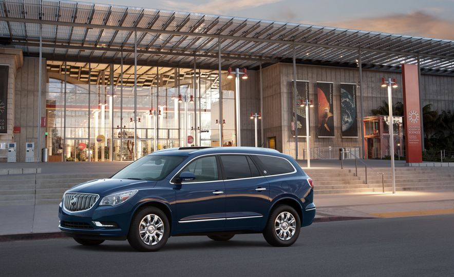2015 Buick Enclave Tuscan Edition - Slide 10