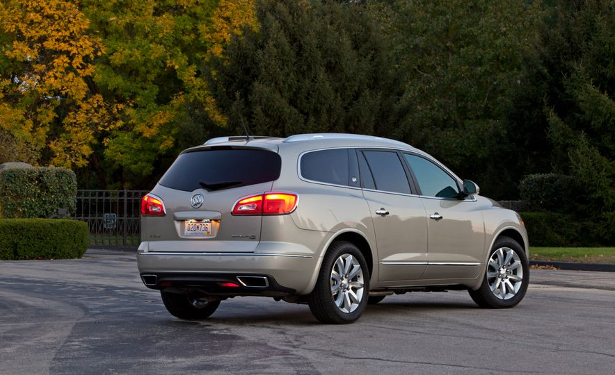 2015 Buick Enclave Tuscan Edition - Slide 14