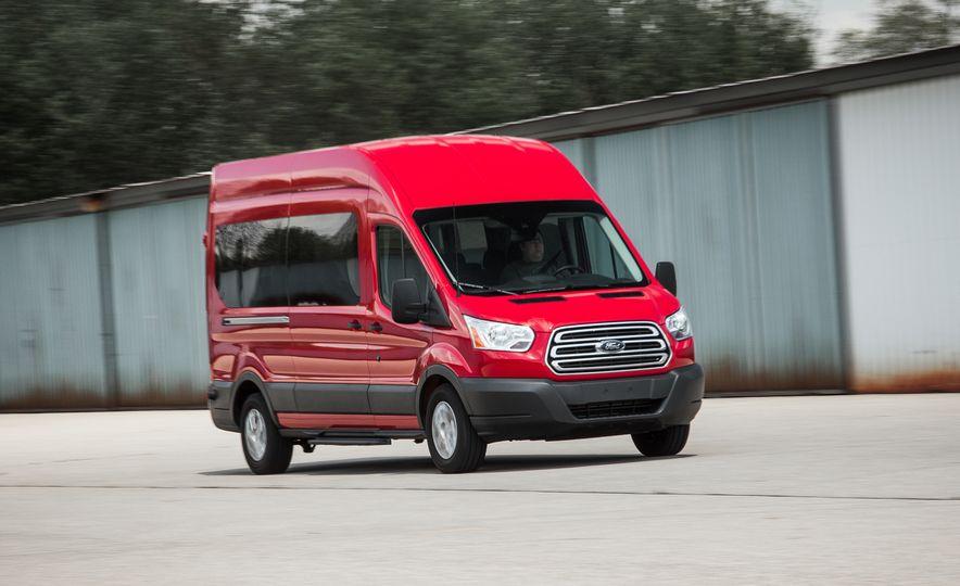 2015 Ford Transit 350 wagon - Slide 2