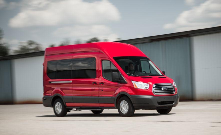 2015 Ford Transit 350 wagon - Slide 4