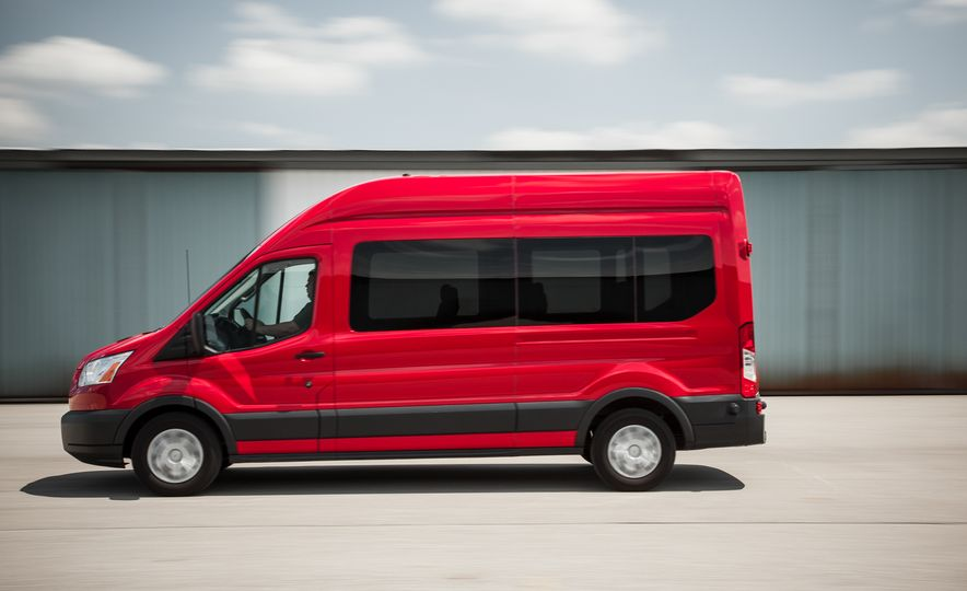 2015 Ford Transit 350 wagon - Slide 6