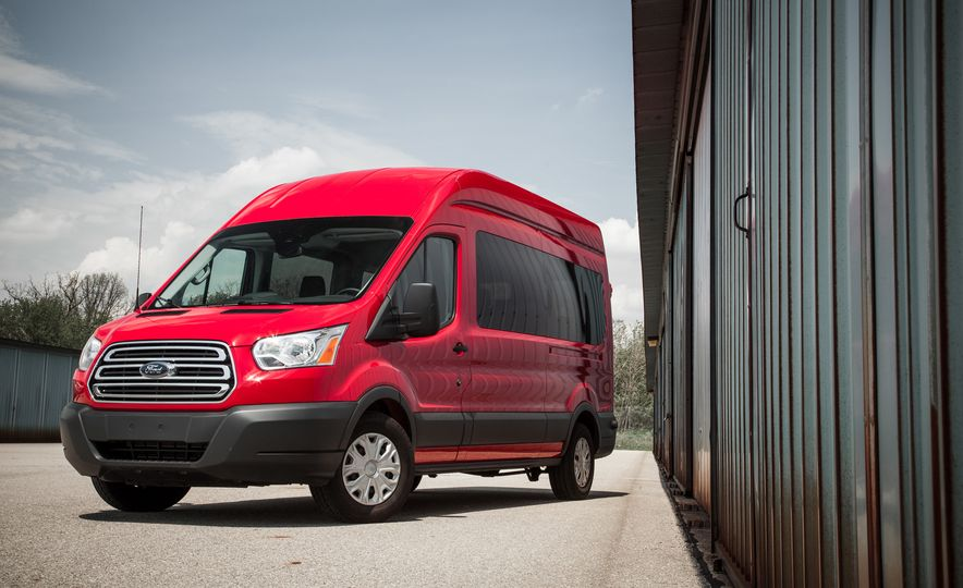 2015 Ford Transit 350 wagon - Slide 10