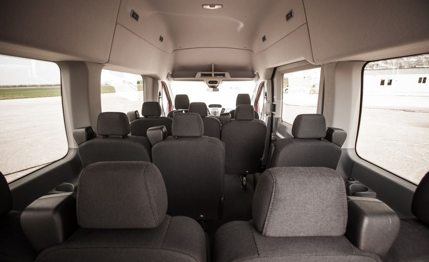 2015 Ford Transit 350 wagon - Slide 32