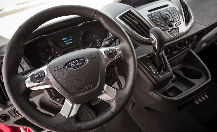 2015 Ford Transit 350 wagon - Slide 38